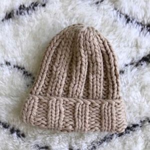 Urban Outfitters Accessories - Free People Camel Colored Knit Beanie From UO 69c5dfe801b